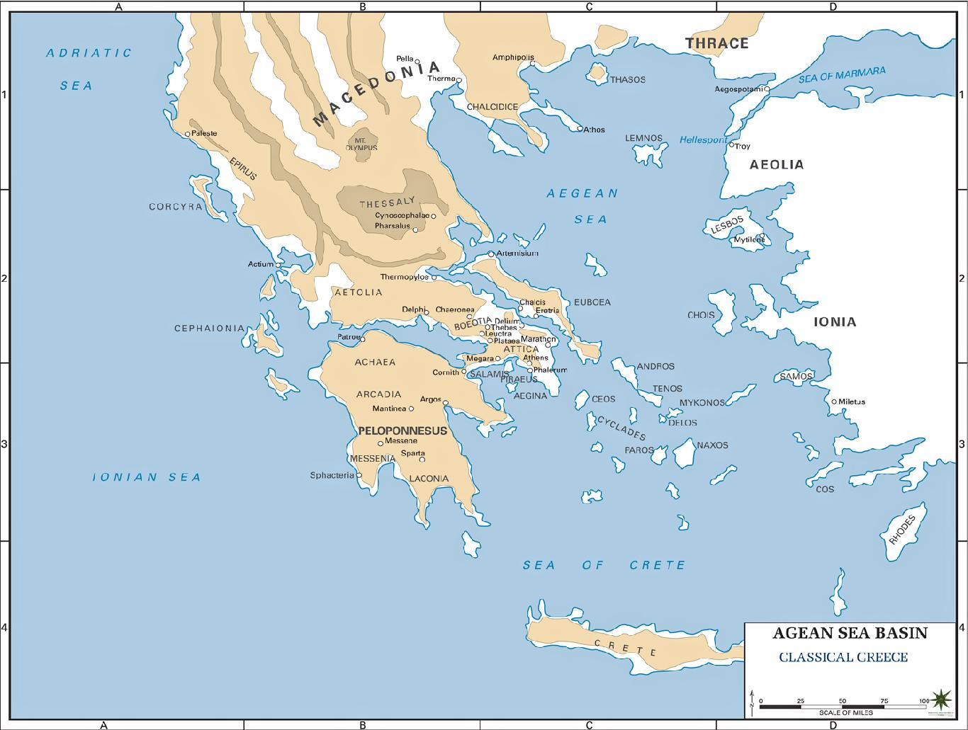 the geography of the ancient greece One major reason why ancient greece was dominated by small city-states and independent towns, rather than by one all-powerful king, is its geography the country's mountainous terrain, many isolated valleys, and numerous offshore islands encouraged the formation of many local centers of power, rather than one.